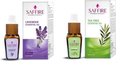 Saffire Tea Tree And Lavender Essential Oil ( Pack Of 2)