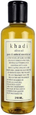 Khadi Herbal Olive Oil - Pure & Natural
