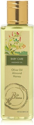 BioBloom Baby Massage Oil - Almond Oil, Olive Oil & Honey