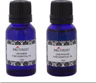Imli Street Geranium & Lemongrass Essential Oil