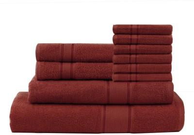Calico Touch 10 Piece Cotton Bath Linen Set