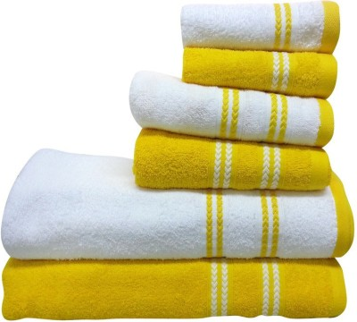 Spaces by Welspun 6 Piece Cotton Bath Linen Set