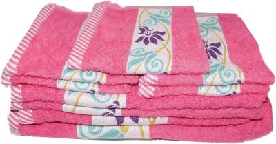 TRIDENT 9 Piece Cotton Bath Linen Set