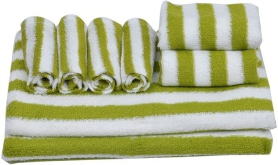 Skumars Love Touch 8 Piece Cotton Bath Linen Set