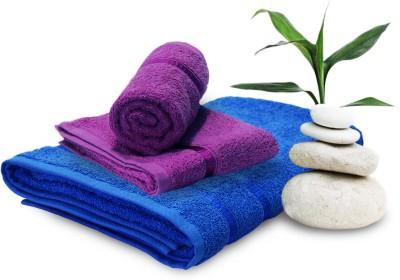 Story @ Home 3 Piece Cotton Bath Linen Set