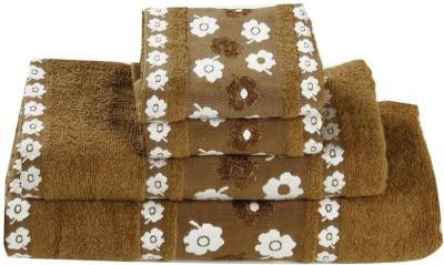 A,la Mode Creations 4 Piece Cotton Bath Linen Set