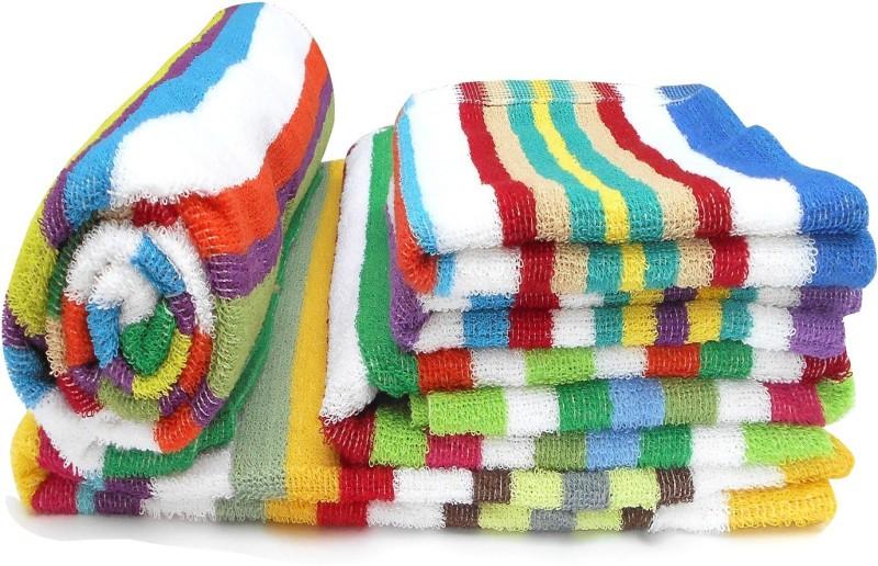 B&G Cotton Bath Linen Set(Multicolor)