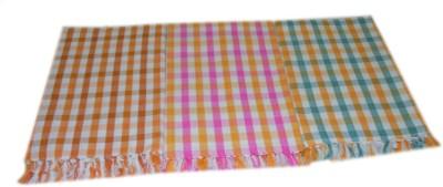 Tidy 3 Piece Cotton Bath Linen Set