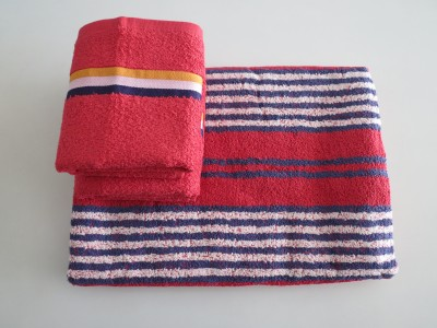 Bombay Dyeing 3 Piece Cotton Bath Linen Set