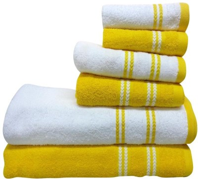 Welhome by Welspun 6 Piece Cotton Bath Linen Set