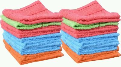 Feathers Bath Linen Set(Multicolor)