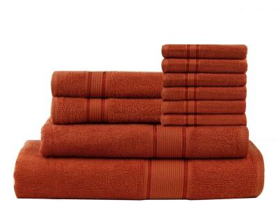 Calico Touch 10 Piece Cotton Bath Linen Set