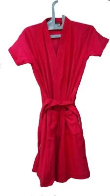 Bagira Red Large Bath Robe