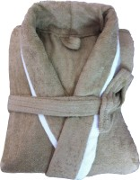 CKT Beige Large Bath Robe(1 Bathrobe, For: Baby Boys & Baby Girls, Beige)