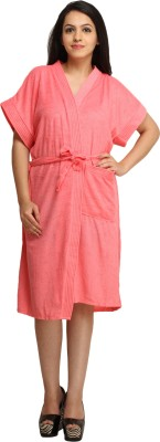 Celebrity Pink Free Size Bath Robe