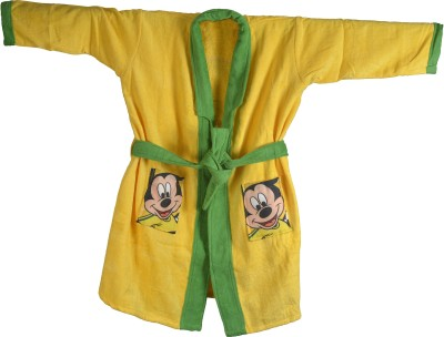 Sassoon Disney Yellow Small Bath Robe