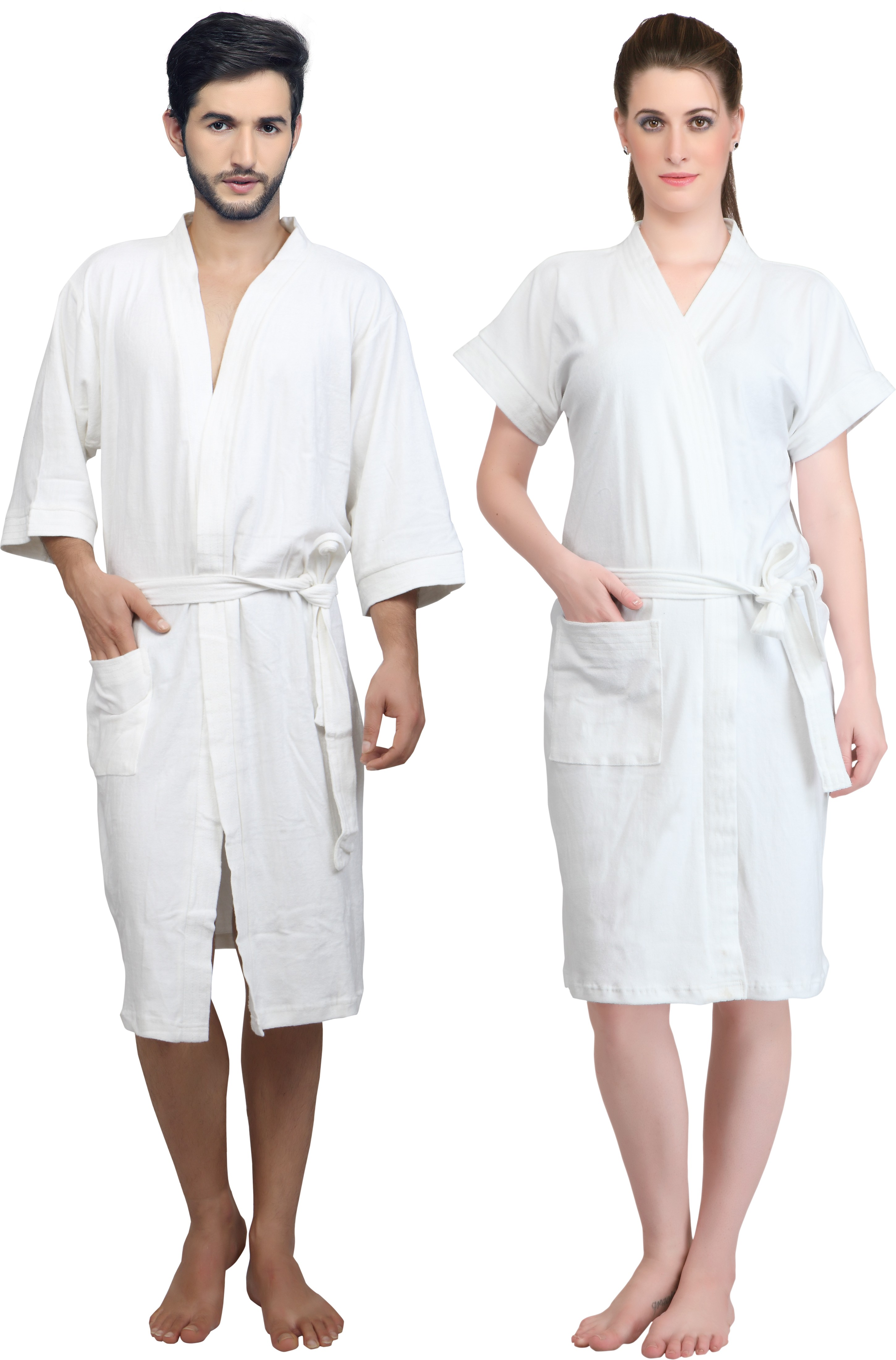 Mark Home White XL Bath Robe