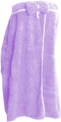 Muren Purple Free Size Bath Robe