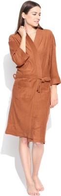 Sand Dune Orange XL Bath Robe