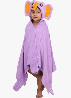 V Brown Purple Free Size Bath Robe