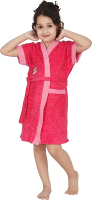 Superior Pink Small Bath Robe