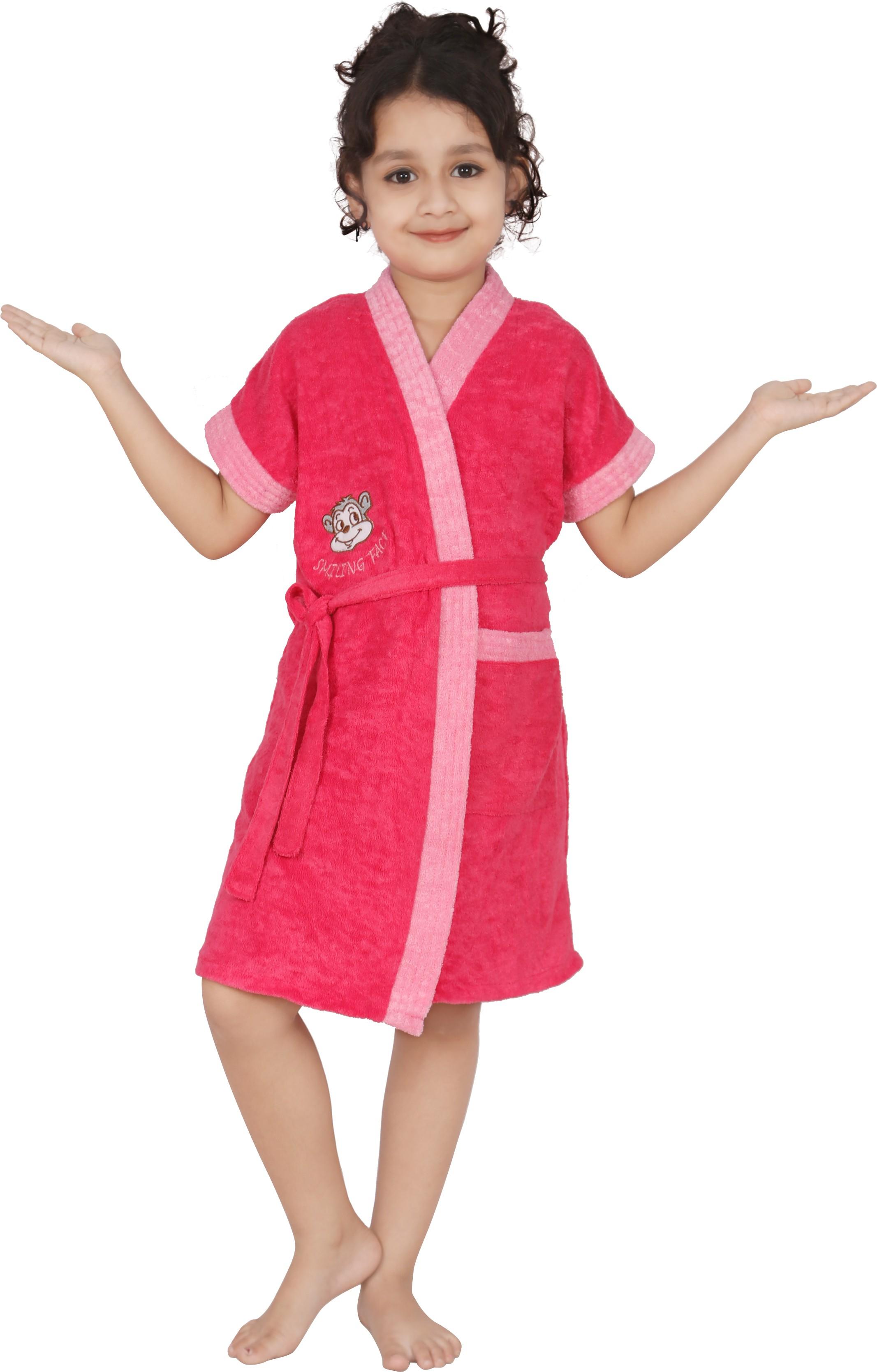Superior Pink XL Bath Robe