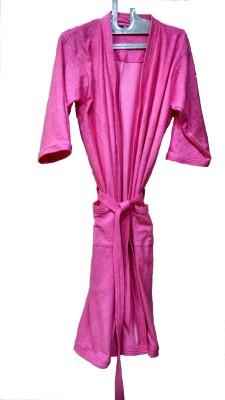 Bagira Pink XL Bath Robe