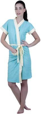 Vixenwrap Blue Free Size Bath Robe
