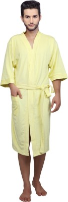 Mark Home Yellow XL Bath Robe