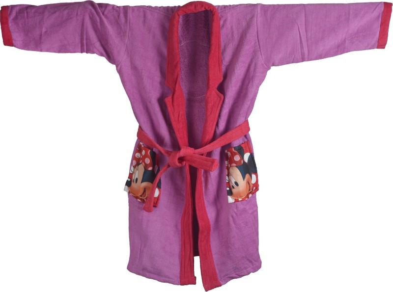 Sassoon Disney Pink Small Bath Robe(Bath Robe, For: Girls, Pink)