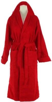 Loomkart Red Large Bath Robe