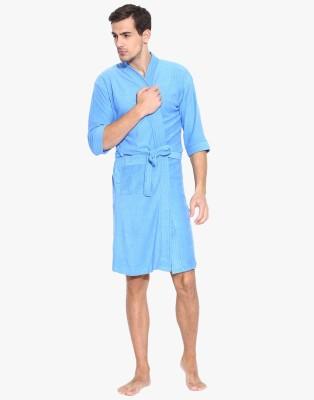Sand Dune Blue Large Bath Robe