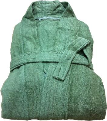 CKT Green Free Size Bath Robe