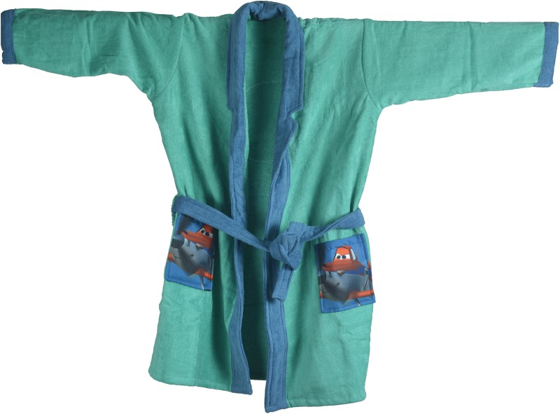 Sassoon Disney Green Small Bath Robe(Bath Robe, For: Boys, Green)