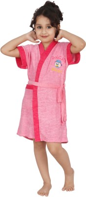 Superior Pink XL Bath Robe