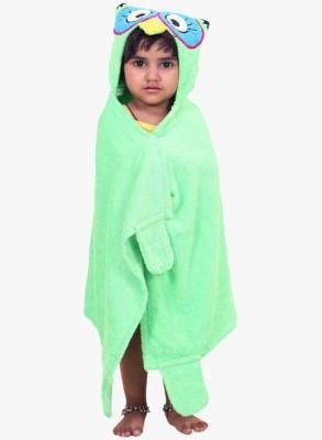 V Brown Green Free Size Bath Robe