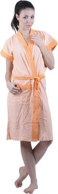 Vixenwrap Orange Free Size Bath Robe