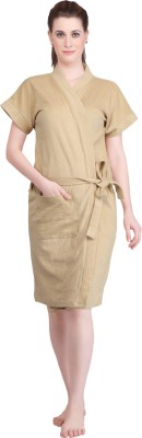Mark Home Beige Large Bath Robe