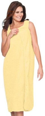 Icable Yellow Large Bath Robe