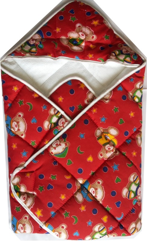 Love Baby Red Medium Bath Robe(1, For: Baby Boys & Baby Girls, Red)