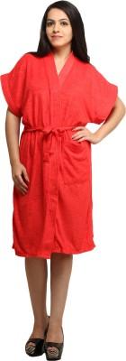 Celebrity Red Free Size Bath Robe