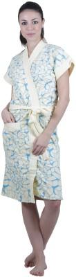 Vixenwrap Green Free Size Bath Robe