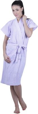 Vixenwrap Lavender Free Size Bath Robe