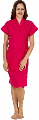 CrazyLiner Dark Pink Free Size Bath Robe