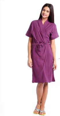FeelBlue Beguni Free Size Bath Robe(Terry Bath Robe, For: Women, Beguni)