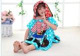 Baby Grow Multicolor Free Size Bath Robe...