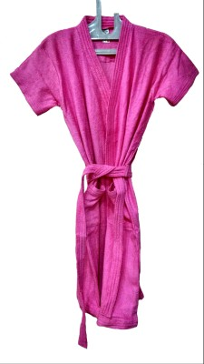 Bagira Pink Medium Bath Robe