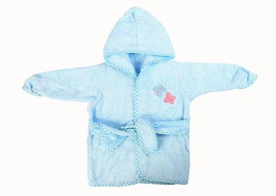 Baby Oodles Blue XS Bath Robe