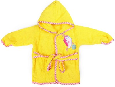 Baby Oodles Yellow XS Bath Robe