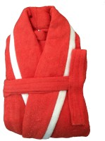 CKT Red Medium Bath Robe(1 Bathrobe, For: Baby Boys & Baby Girls, Red)